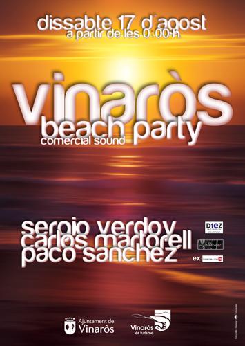 Cartel Vinaròs beach